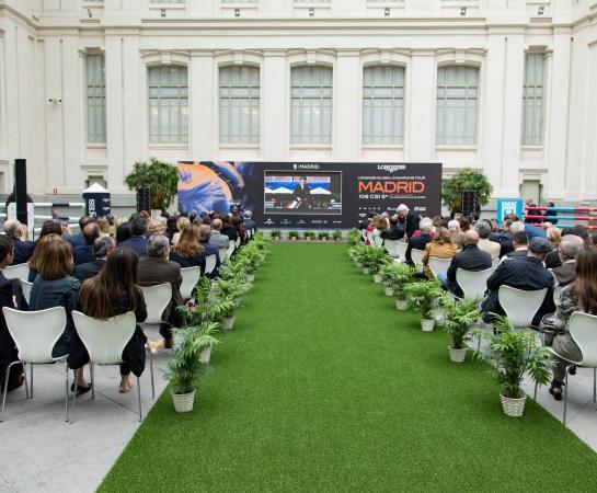 CSI Madrid 5*-Longines Global Champions Tour (presentación en el Ayuntamiento de Madrid)