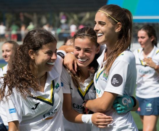Laura Barrios, Alejandra Torres-Quevedo y Lucía Abajo