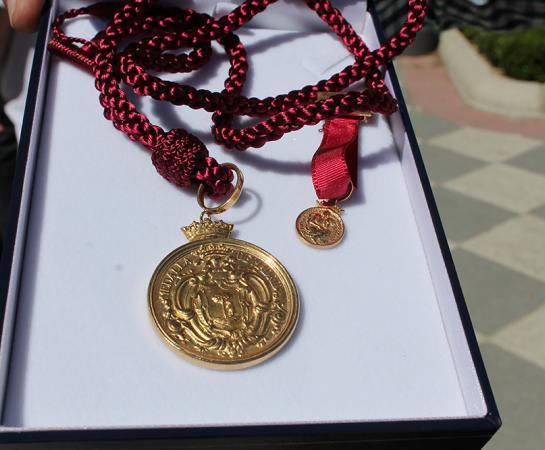 Medalla de oro de Madrid