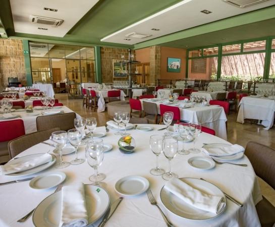 Interior restaurante Chalet de Tenis.