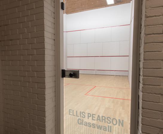 Detalle pista squash