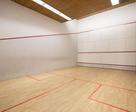 Imagen de la pista de squash