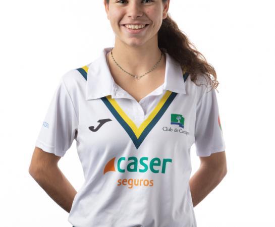 Sara Barrios, cantera
