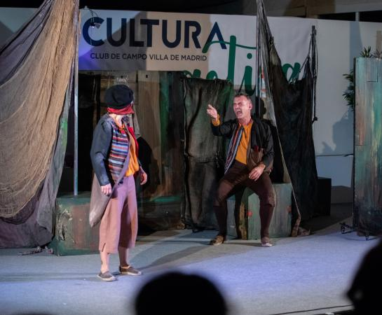 Constanza. Dos historias de Cervantes. Foto: Miguel Ros