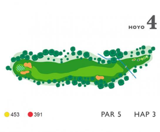Mapa hoyo 4