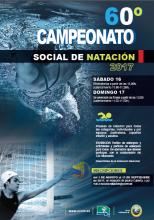Cartel 60º Campeonato social de natación