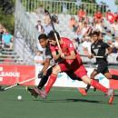 Un lance de juego del España-Nueva Zelanda. Foto: Miguel Ros