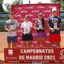 Campeonato de Madrid júnior de tenis. Foto: FTM