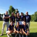 La selección de Madrid, campeona de España del Interautonómico del golf. Foto: RFEGOLF