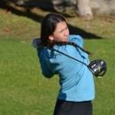 Cayetana Fernández, en la Copa Andalucía de golf 2021. Foto: Rfegolf