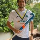 El jugador del Club Quique González de Castejón.