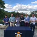 Entrega de trofeos. Foto: Federación de Golf de Madrid