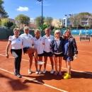 Equipo del Club campeón de Madrid tenis femenino +55.
