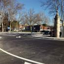 Acceso principal al Club por la carretera de Castilla, kilómetro 2.
