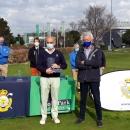 El abonado Antonio Mata Puig, campeón del Abierto P&P Golf Park.