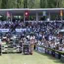 Aspecto de las gradas abarrotadas en la Copa de S.M. El Rey. Foto: Miguel Ros