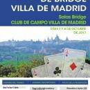 Cartel del Gran Premio Villa de Madrid