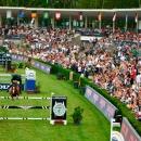 El Concurso de Saltos de Hípica de Madrid, en la Pista Verde del Club.
