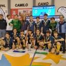 Campeones de España infantiles de hockey sala.