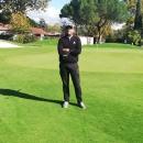 El golfista profesional del Club Carlos Sánchez Molina.