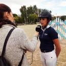 Carmen García-Torres atiende a Telemadrid