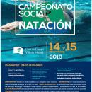 62º CAMPEONATO SOCIAL DE NATACIÓN - Sólo el 15 de septiembre