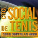Cartel del Campeonato Social de Tenis 2019