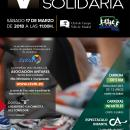 Cartel de la Carrera Solidaria 2018