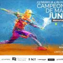Cartel del Campeonato de Madrid Júnior de Tenis