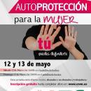 Cartel de la Jornada de Autoprotección para la Mujer
