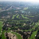 Imagen aérea del Club de Campo Villa de Madrid