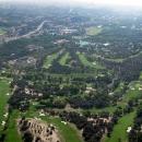 Imagen aérea del Club de Campo Villa de Madrid.