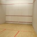 Pista de squash del Club de Campo Villa de Madrid.