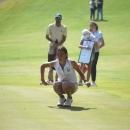 Cayetana Fernández García-Poggio, durante una competición. Foto: RFEG