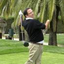 Curro Centeno en acción. Foto: Federación Madrileña de Golf