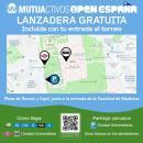 Plano lanzadera gratuita Mutuactivos Open de España
