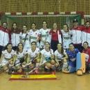 Campeonas del EuroHockey Indoor Femenino 2020. Foto: RFEH