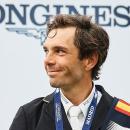 Eduardo Álvarez Aznar en el podio del CSI Madrid 5*-LGCT 2016