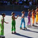 Jóvenes patinadoras