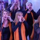 Las cantantes de Spirit to All en un momento de la actuación. Foto: Miguel Ros