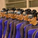 Las 9 patinadoras del Club