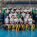 Plantilla y cuerpo técnico del Club de Campo femenino 2018-2019. Foto: Miguel Ros