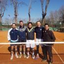 Jorge Mantilla, Víctor Guió, José Eraña, Pablo Semprún y Ramón Costa