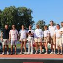 Equipo del Club de Campo con el trofeo de campeón