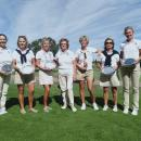 El equipo sénior Damas del Club subcampeón.