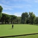 Campo 1 de croquet del Club de Campo Villa de Madrid.