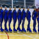 Equipo de patinadoras del Club de Campo