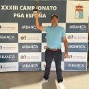 El golfista del Club. Juan Salama. Foto: PGA España