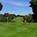 Golf en el Club de Campo Villa de Madrid.