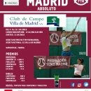 Cartel LXII Campeonato Madrid absoluto de tenis